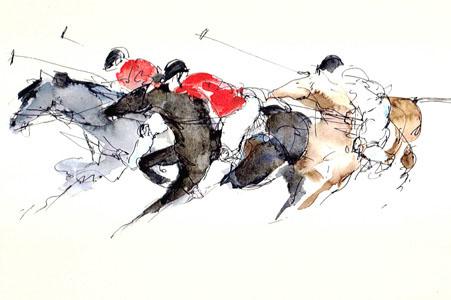 Equestrian 132-1 by Bella Pieroni