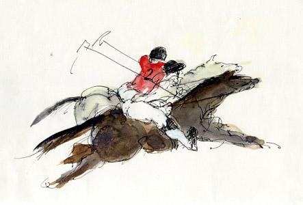 Equestrian 133-2 by Bella Pieroni