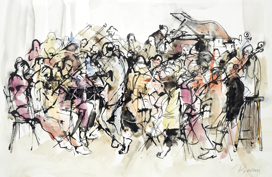 Orchestra II by Bella Pieroni