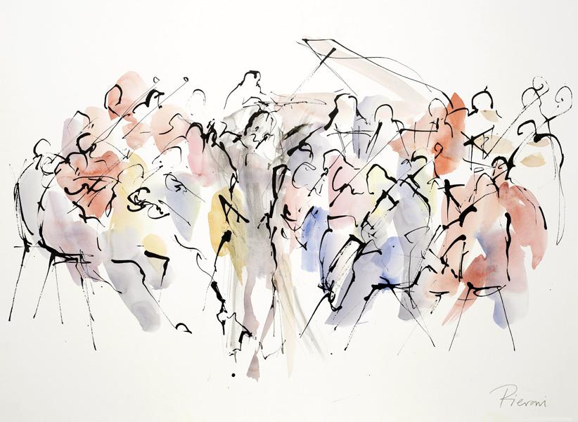 Orchestra III by Bella Pieroni