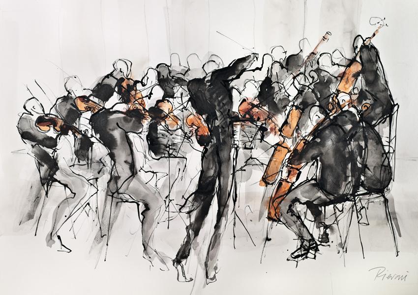 Orchestra VI by Bella Pieroni