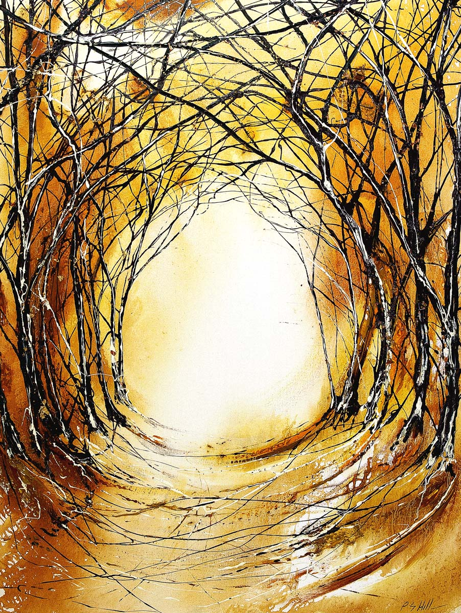 Rustic Tree Tunnel by Peter Hill