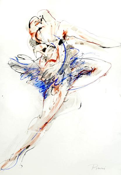 Sensuous Dancer II by Bella Pieroni