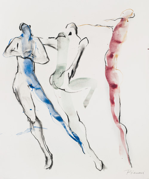 Study of three dancers  by Bella Pieroni