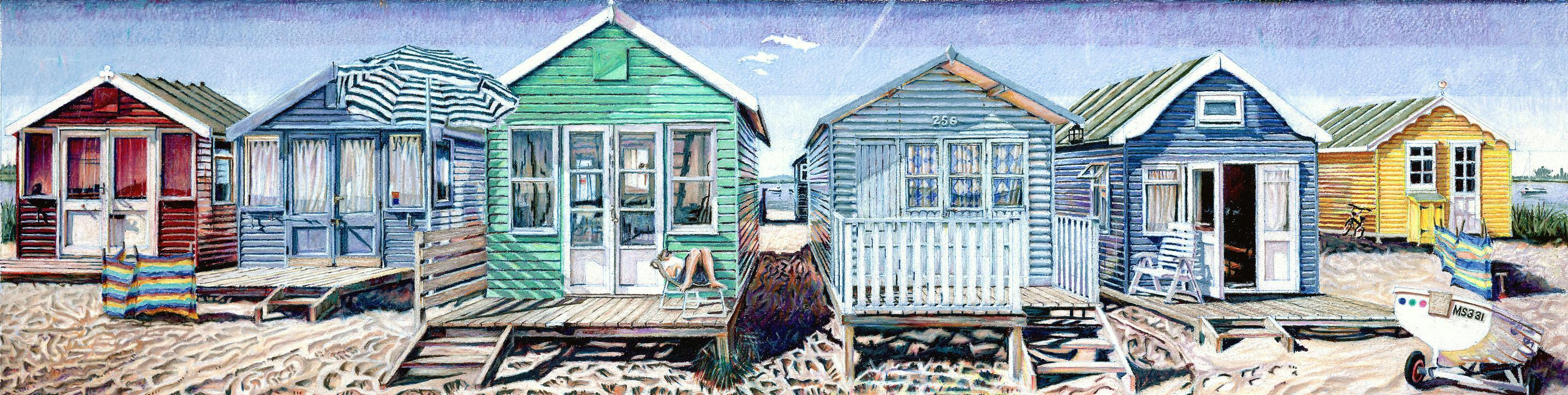 BeachHuts by Alastair Howie