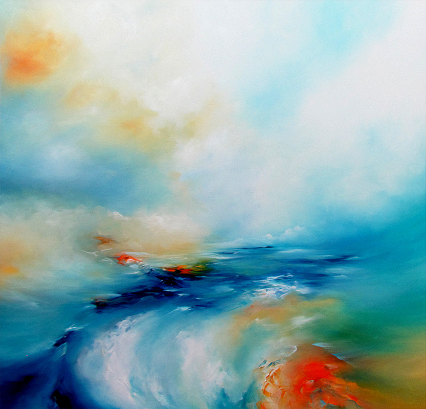 Riding the Surf by Alison Johnson