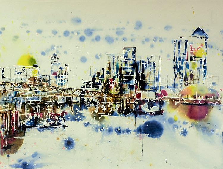 Canary Wharf  by Rachael Dalzell