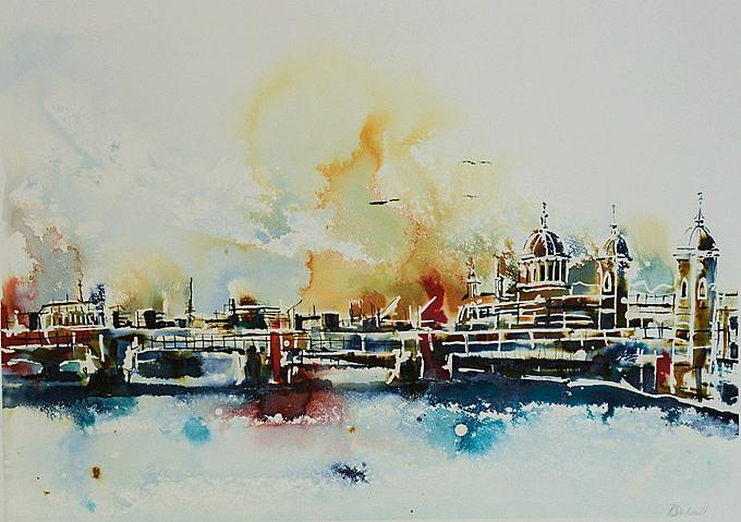 Southwark Bridge by Rachael Dalzell
