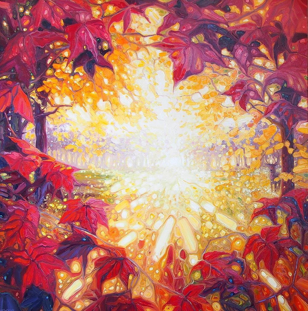 Radiant Autumn Dawn by Gill Bustamante