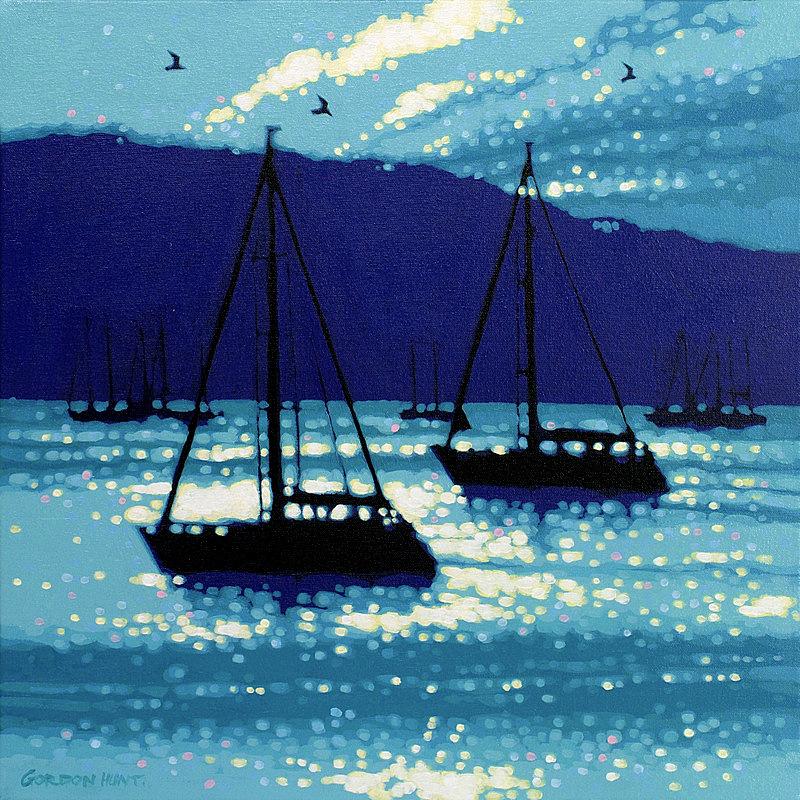 Calm Sea Sailing by Gordon Hunt