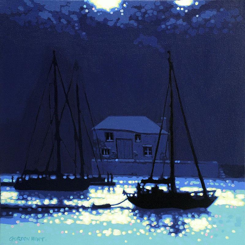 Cool Summer Shadows by Gordon Hunt