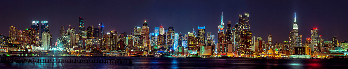 New York - Ultra Panoramic  by Assaf Frank