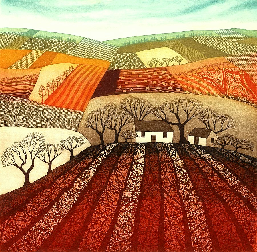 Ploughed Earth - SOLD OUT by Rebecca Vincent