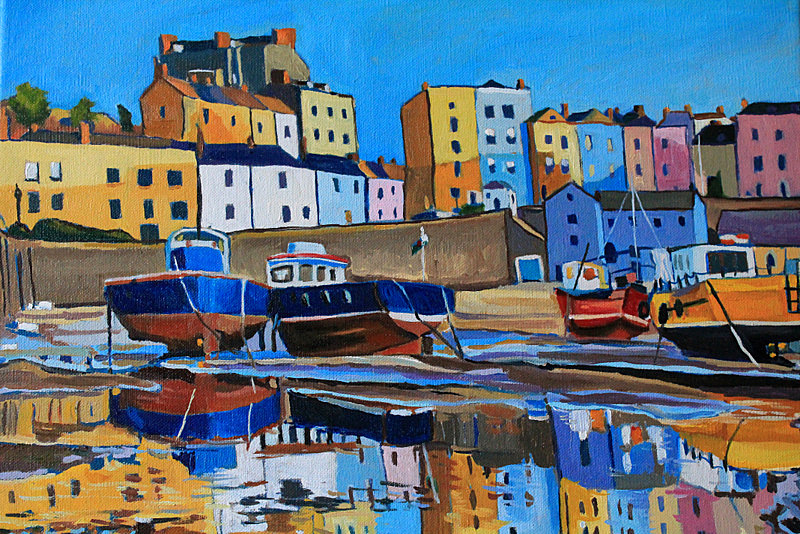 Tenby Reflection by Emma Cownie