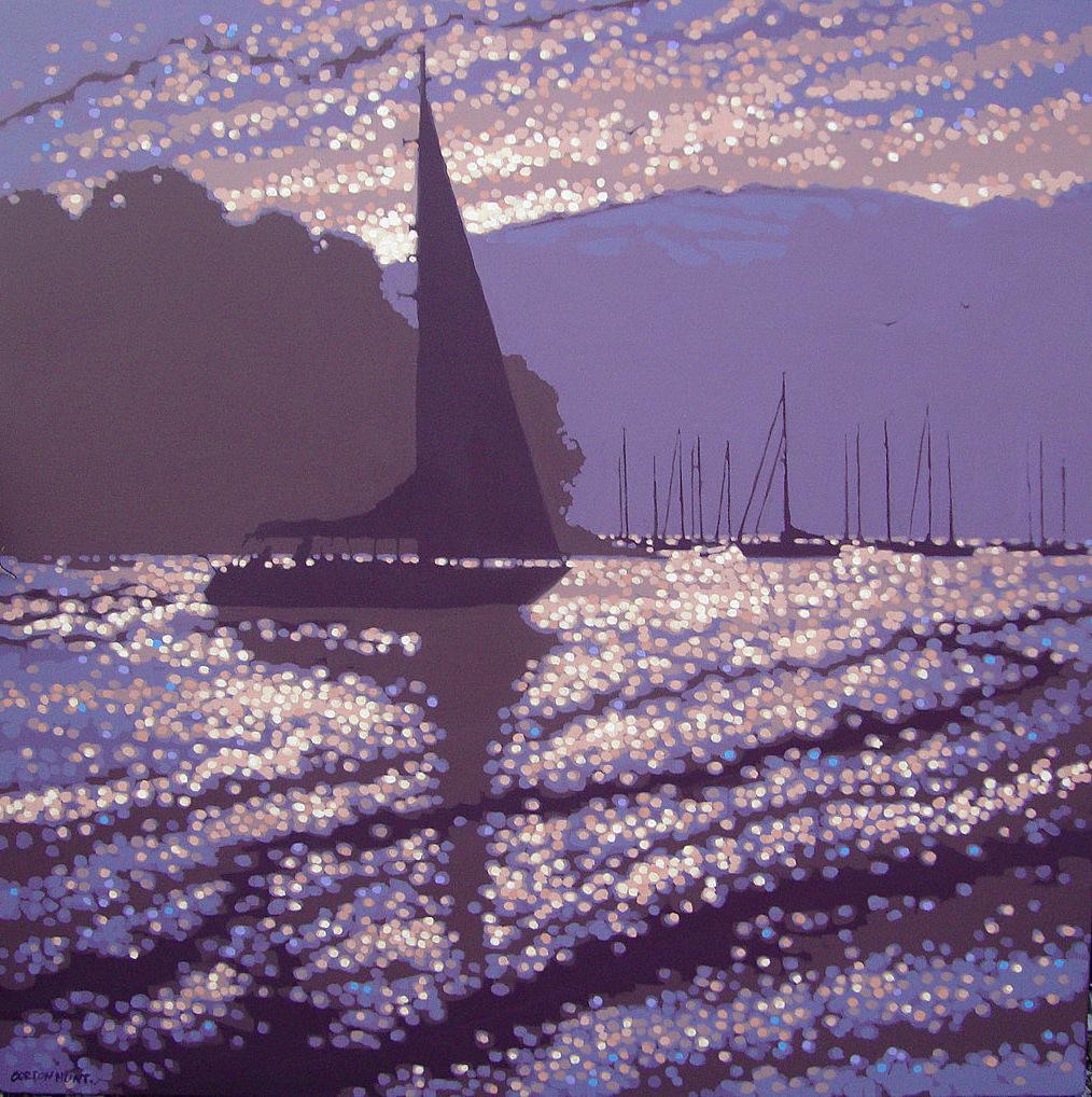 Dawn departure Fowey by Gordon Hunt