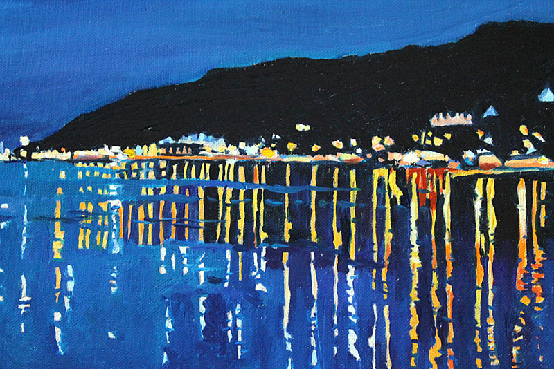 Night time mumbles by Emma Cownie