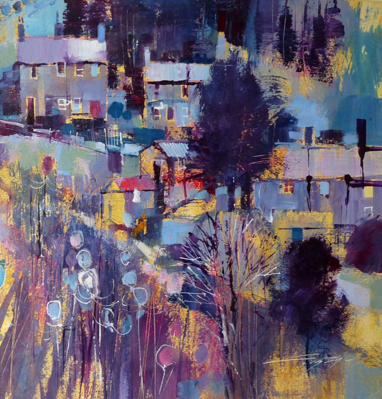 Blue frosting by Chris Forsey