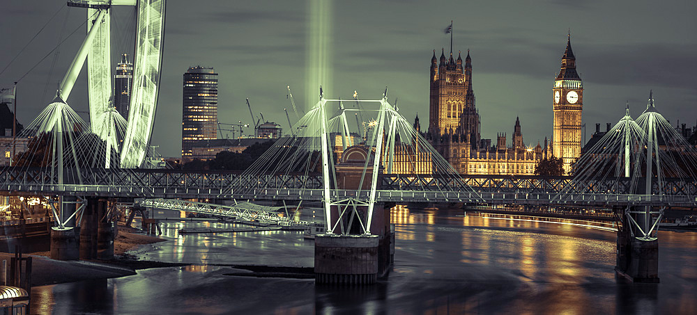 The eye over Westminster  by Assaf Frank