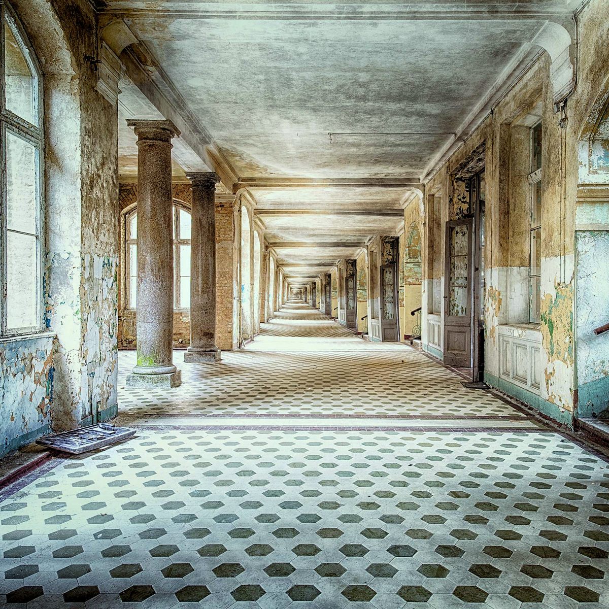 The beauty of decay VII  by Markus Studtmann
