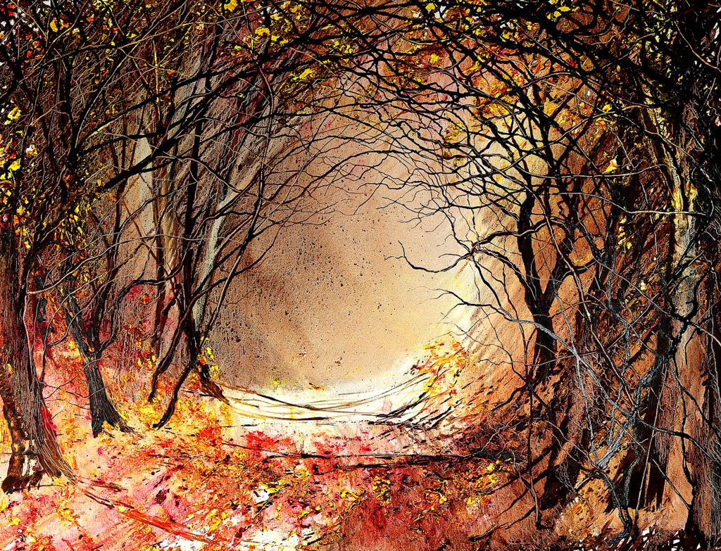 Autumn Arboretum by Peter Hill