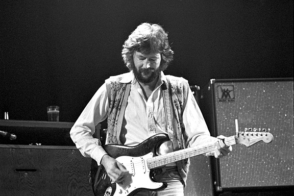 Eric Clapton 3 by Barry Plummer