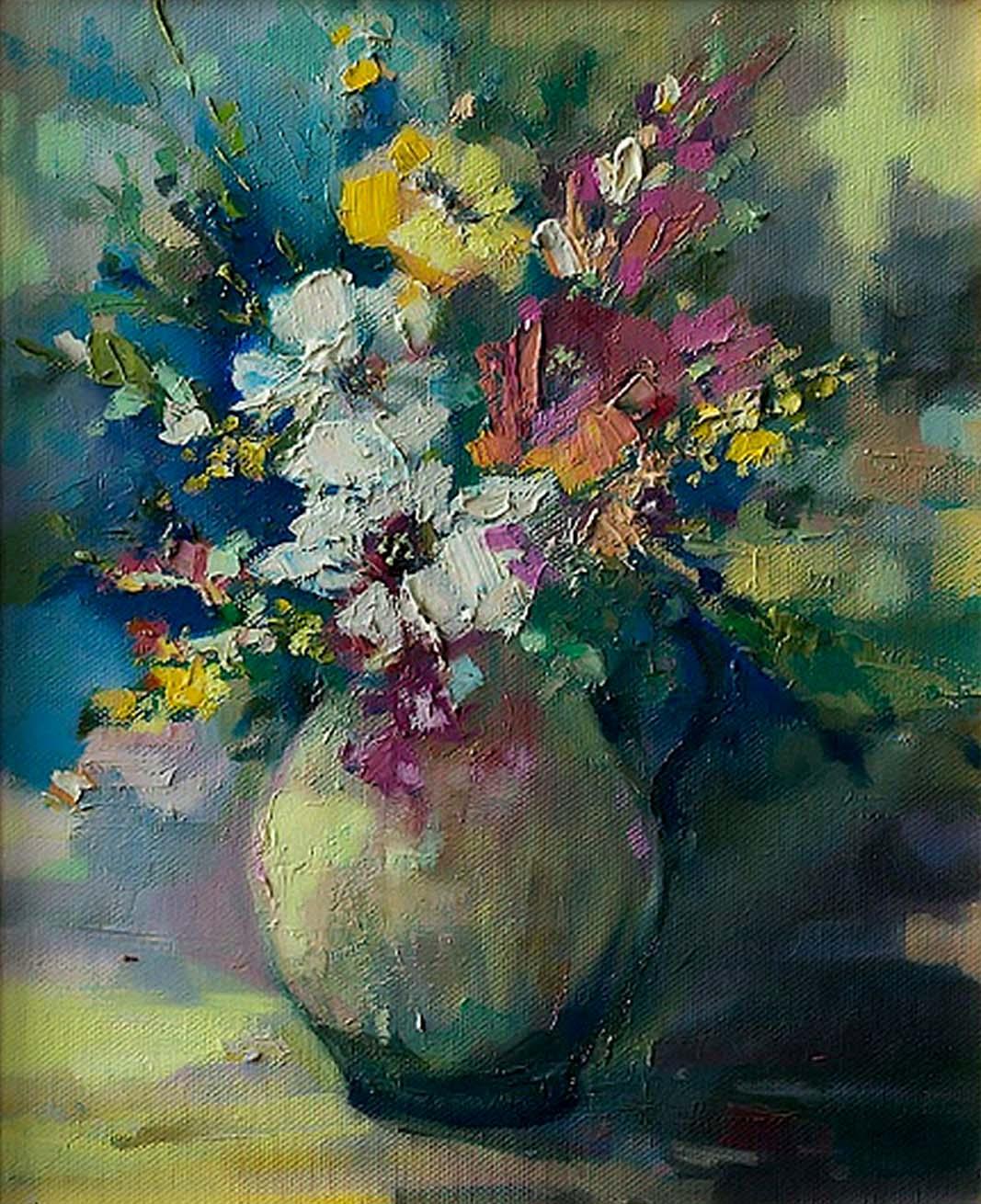 Flowers Vase by Ewa Czarniecka