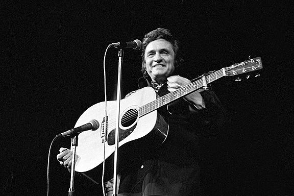 Johnny Cash 1 by Barry Plummer