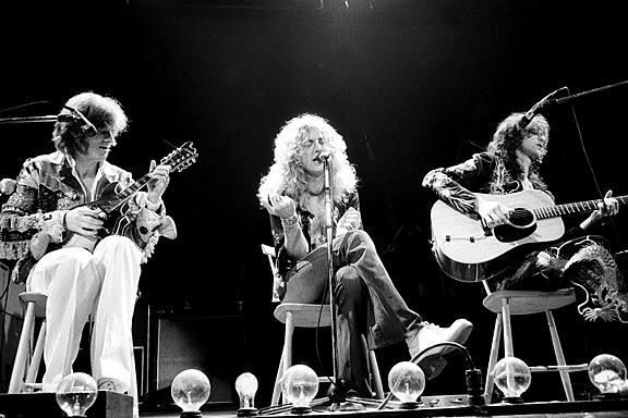 Led Zeppelin 1 by Barry Plummer