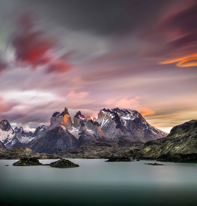 Torres del Paine Horns, Chile by Ignacio Palacios