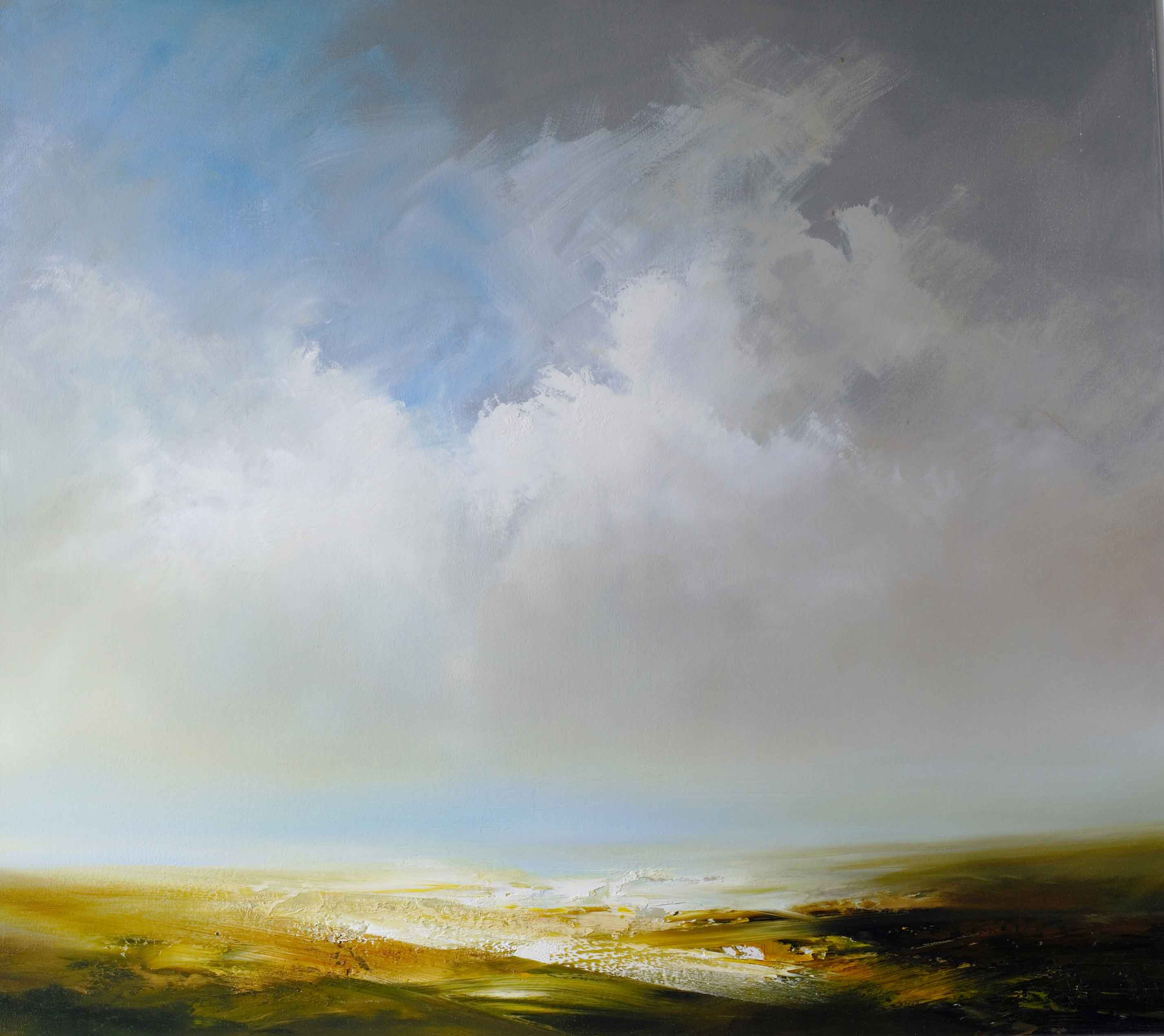 Gathering clouds over Moorland by David Taylor