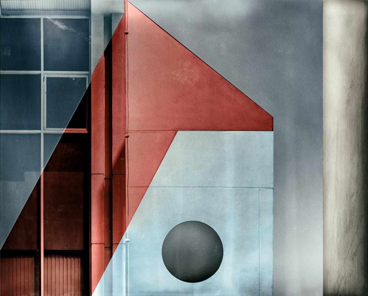 Red transparency by Harry Verschelden