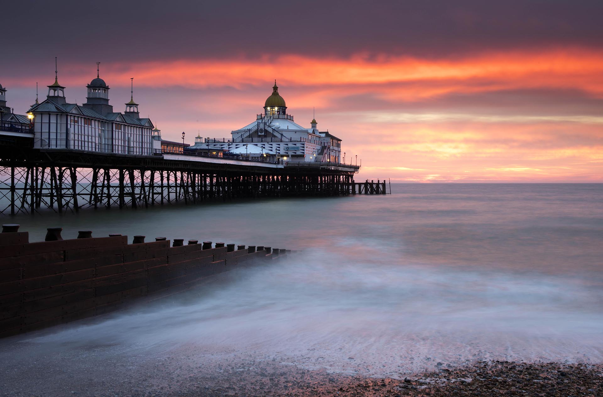 Brighton Sunset by Lee Frost
