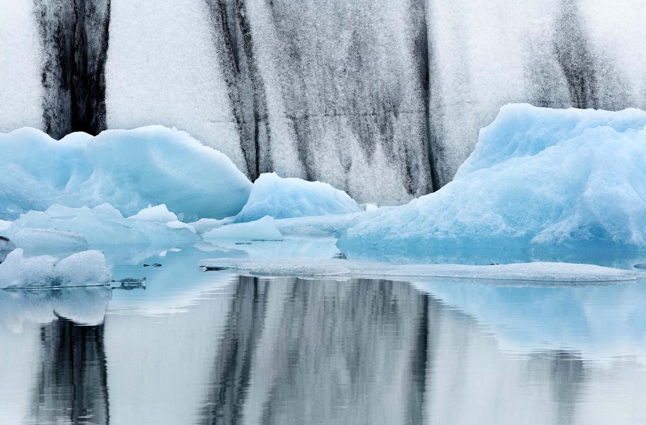 Abstract Nature - Glacier II by Lee Frost