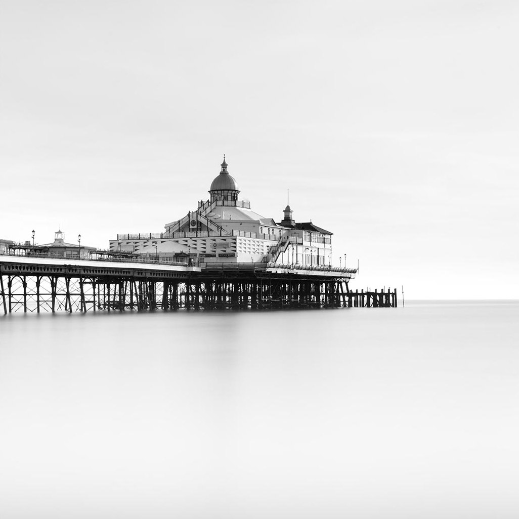 Brighton Pier II- Black & White by Lee Frost