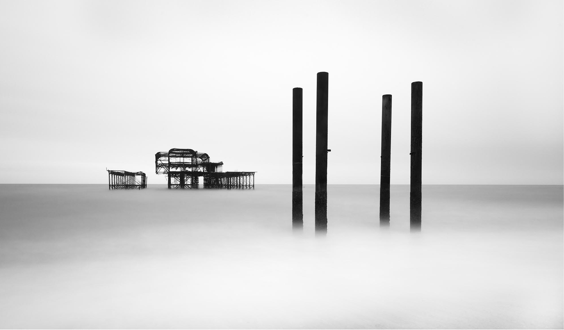Old Brighton Pier III by Lee Frost