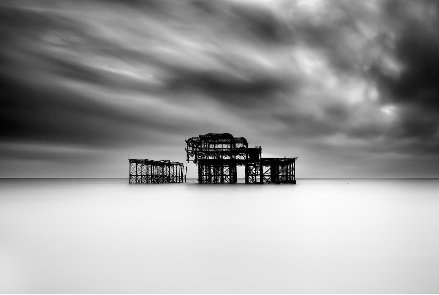 Old Brighton Pier IV by Lee Frost