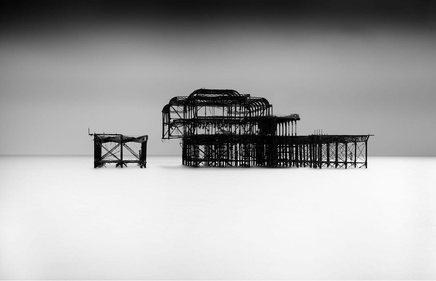 Old Brighton Pier I by Lee Frost